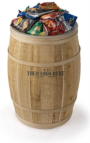 Farmhouse Style Cedar Barrel with Liner