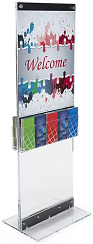 Brochure Holder for FSPH Poster Stand Series