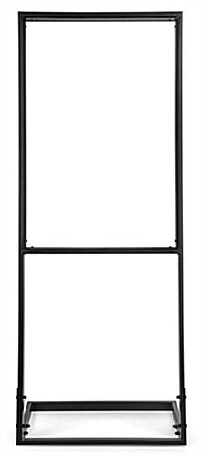 Fabric poster display frame with built-in channel for 24x36 SEG Graphic
