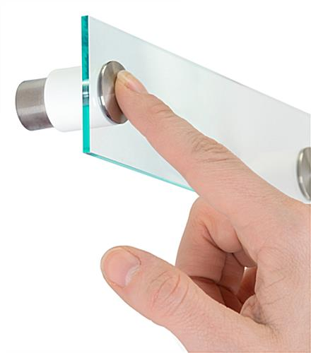Push-Lock, Quick Release Sign Standoffs