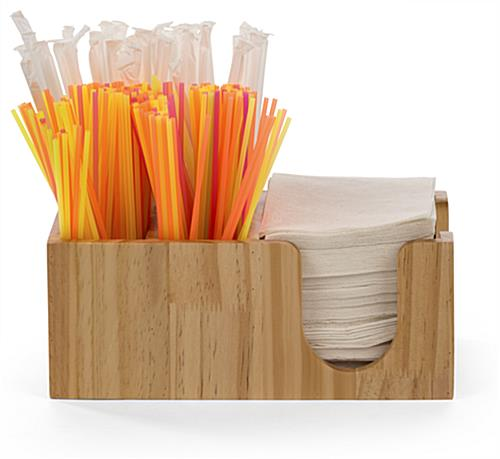 Breakroom bar caddy accessory organizer