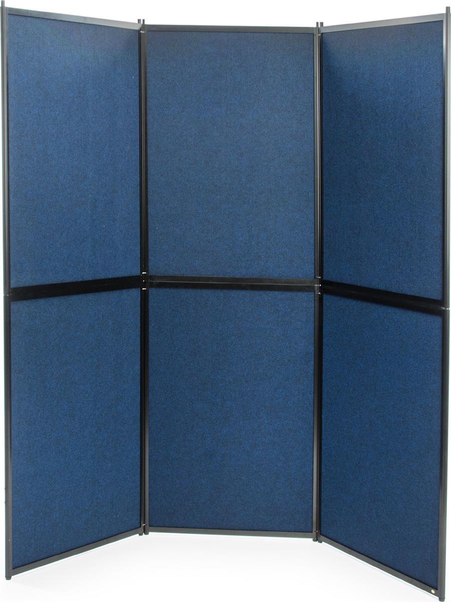 Quick Space Portable Restrooms Toilets Bathrooms Reno: 6 Panel Hook And Loop Display Board
