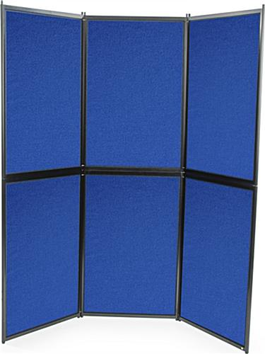 6 Panel Hook and Loop Display Board