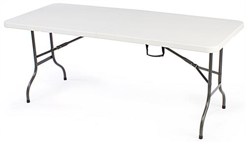 Included 6' Fitted Table Throw Package