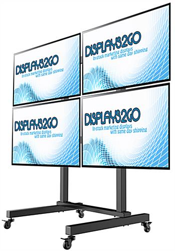 Floor Standing Mobile Video Wall