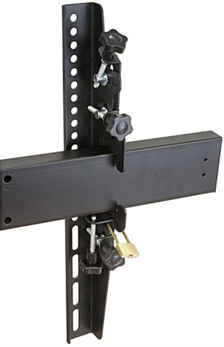 Freestanding Video Wall Locking Brackets