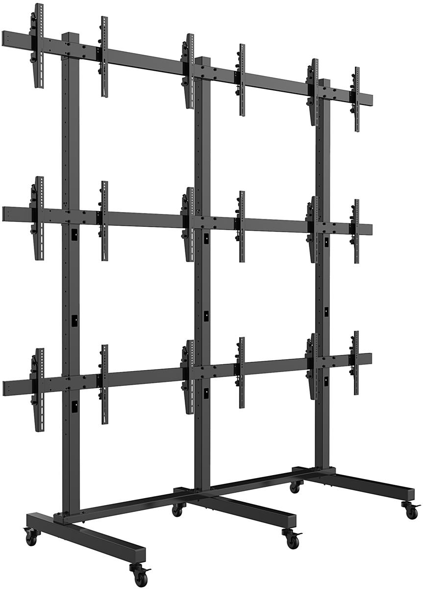 Freestanding Video Wall Locking Brackets