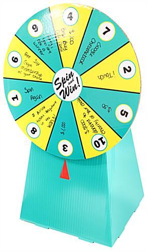 Cardboard Prize Wheel Diy - DIY Campbellandkellarteam