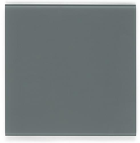 Gray 12 x 12 Magnetic Glass Whiteboard