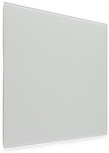 24 x 18 Magnetic Glass Whiteboard, White Surface