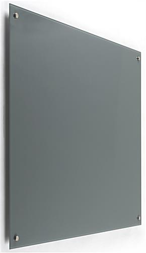 wall mountable 48 x 36 magnetic glass dry erase board