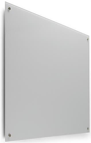 48 x 36 Magnetic Glass Whiteboard for Wall Mounting