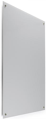 48 x 36 Magnetic Glass Whiteboard, Portrait View