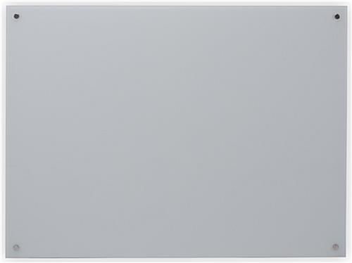 Tempered 48 x 36 Magnetic Glass Whiteboard