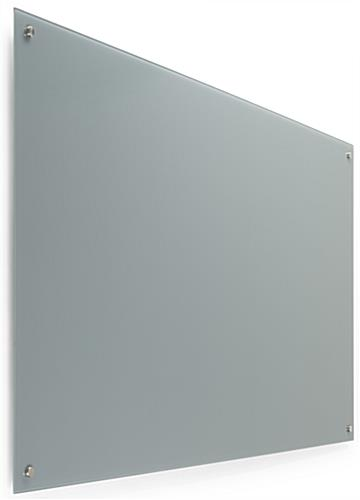 60 x 36 Magnetic Glass Dry Erase Board, Mounting Hardware Included