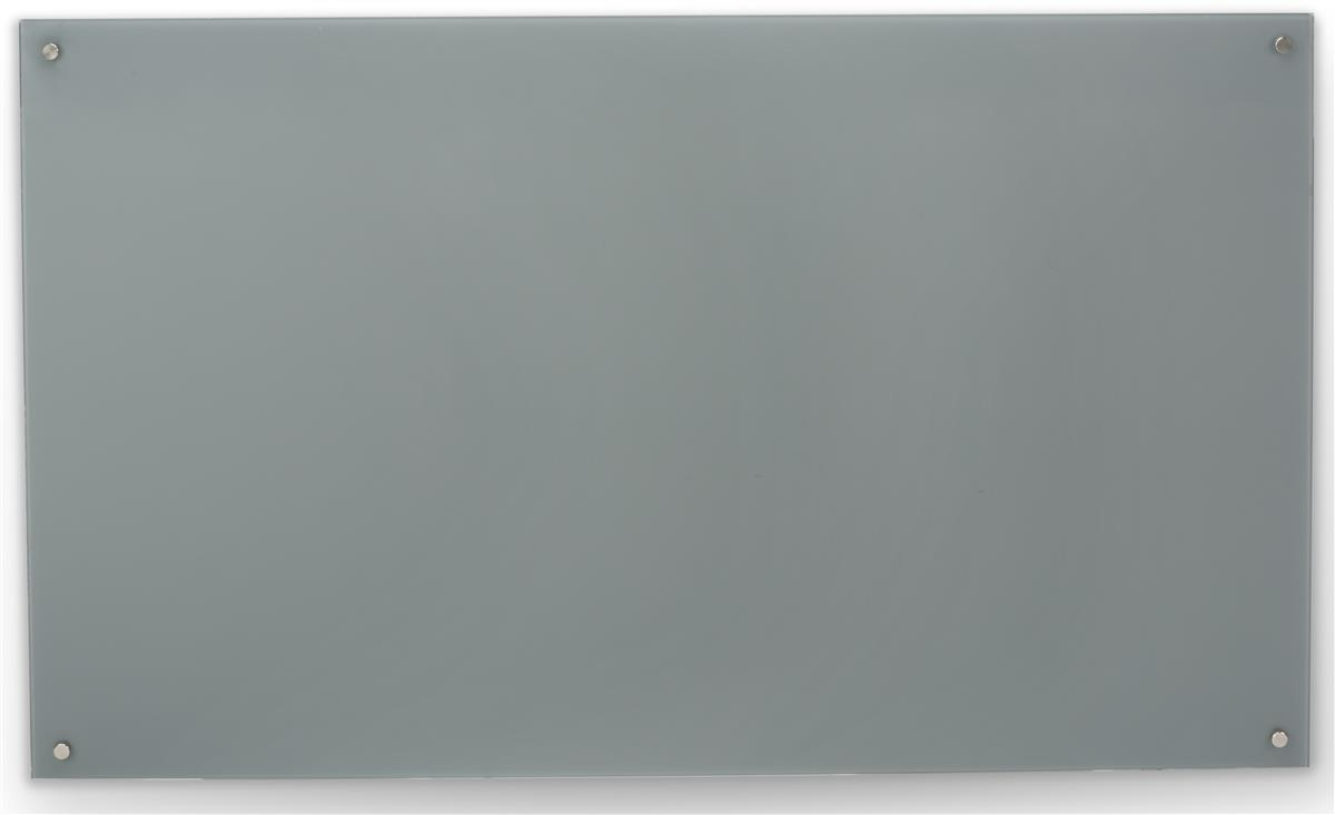 60 X 36 Magnetic Glass Dry Erase Board Cool Gray Color