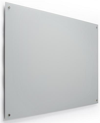 60 x 36 Magnetic Glass Whiteboard for Wall Mounting