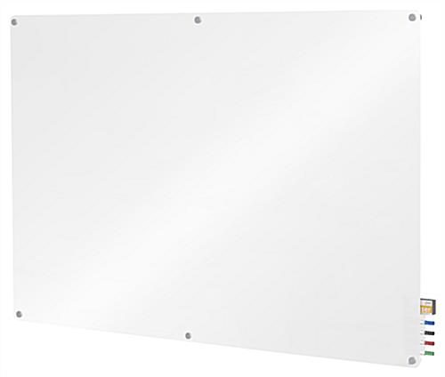 Glass Dry-Erase Board - Hanging