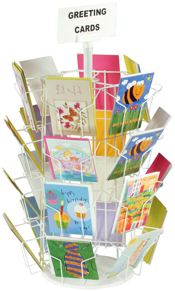These Retail Wire Rack Displays Have 24 Card Pockets Prices On