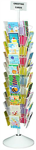 Revolving greeting card racks floor standing 40 pockets greeting card racks m4hsunfo