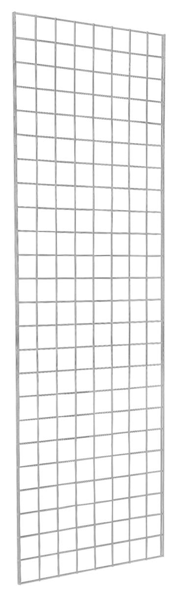 6 White Wire Grid Panel Strong Double Metal Framing