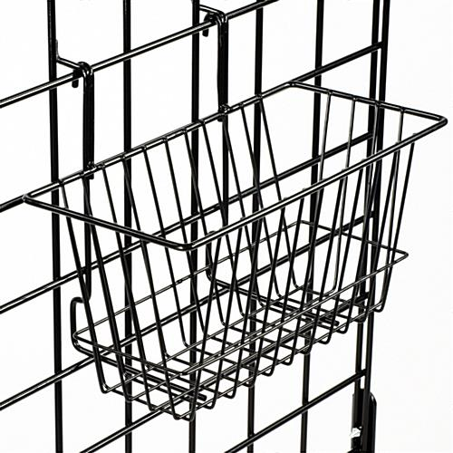 This Gridwall Basket Can Hold Bulk Items Easy Attach Hooks Connect