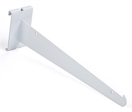 "Glossy 12"" white gridwall knife bracket"