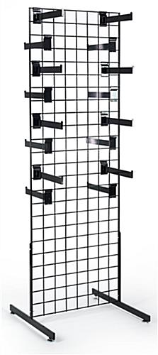 Grid Wall Displays with Faceout Hooks