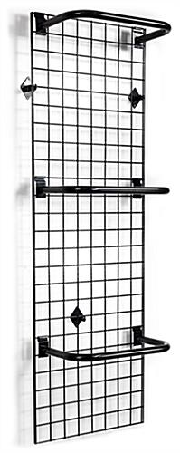 "Grid Wall with ""C"" Rails"