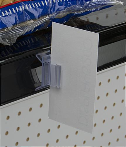 Price Channel Holders Retail Shelving Sign Clip
