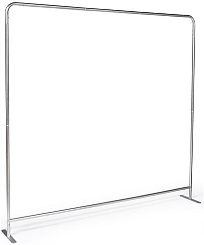 Chroma key fabric backdrop includes aluminum frame