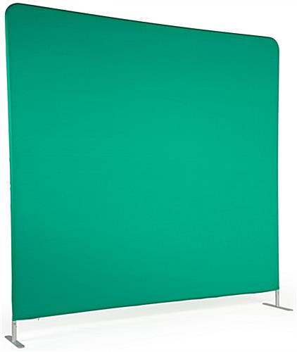 Chroma key fabric backdrop with matted finish