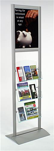 "Catalog Holder with 18"" x 24"" Poster Frame"