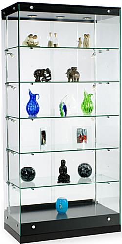 Glass Cabinets Grace Tyler Series Commercial Showcase