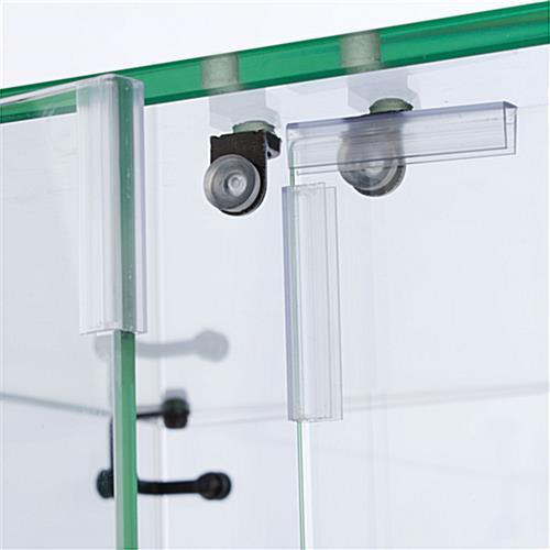 Display Case Locking Door Amp Silver Painted Mdf Base