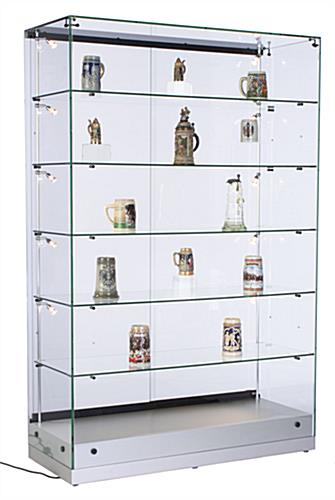 Wide LED Display Cabinet, Grace Tyler Series
