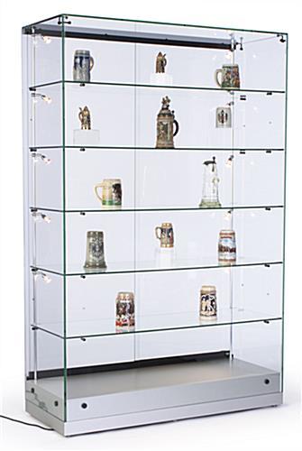 Display Cases Vertical Lighting Amp Adjustable Shelf
