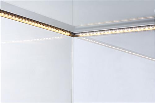 LED Backlit Jewelry Display Case - Full Vision