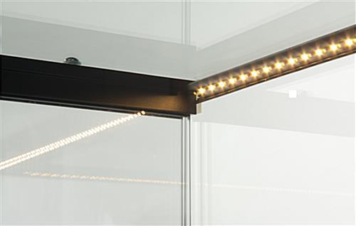 led lit jewelry counter quarter vision. Black Bedroom Furniture Sets. Home Design Ideas