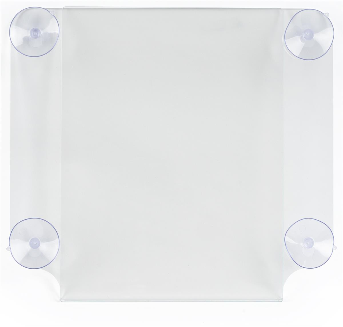 Displays2go Workshop Series 8.5 x 11 Window Sign Holder w...
