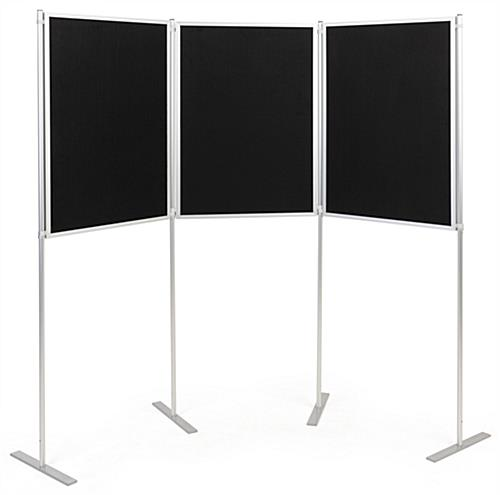 Folding portable backdrop panels with slim profile