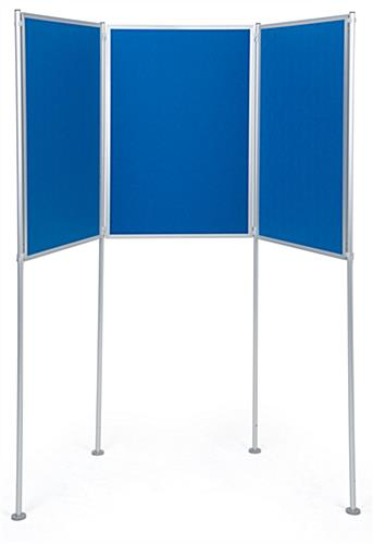Multiple configuration freestanding modular display boards