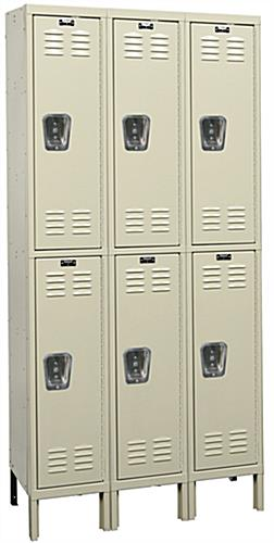 Steel Lockers with Latching Doors