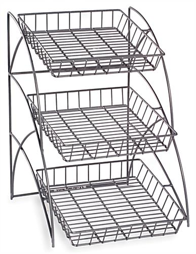 Metal Wire Racks Comes With 3 Trays