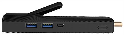 Windows digital sign media player with two USB 3.0 Ports