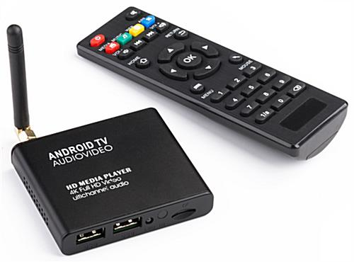 Android Media Player with Remote Control