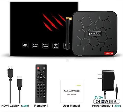 Android digital multimedia player with remote and HDMI cable included