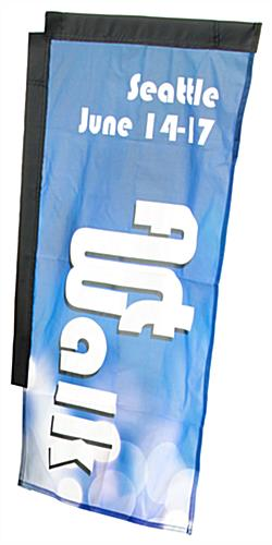 2-Sided Rectangular Backpack Flag for BPBH2S