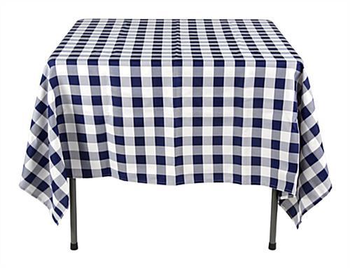 Beau Checkered Tablecloths