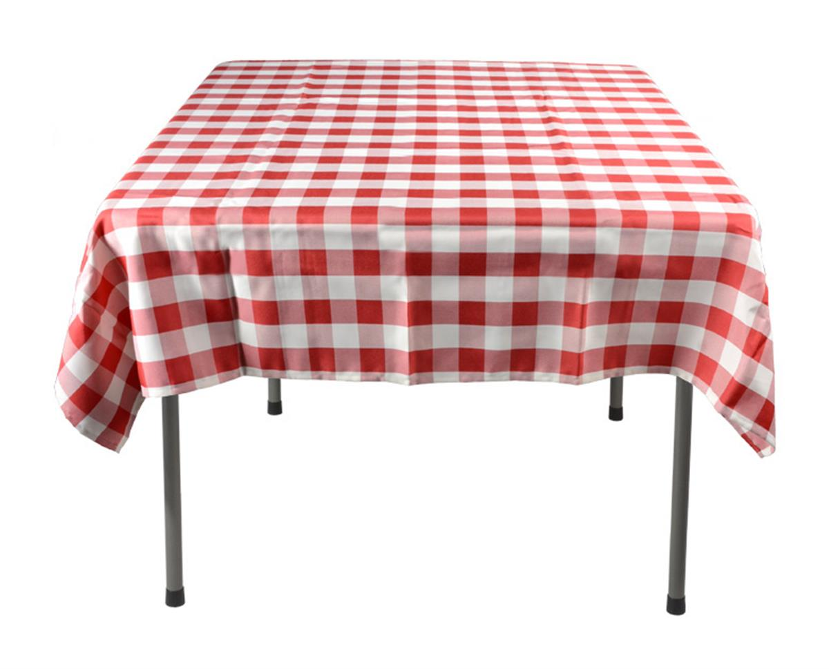 Red Amp White Tablecloth Checkered Cover